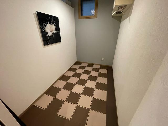 自重トレーニングルームの画像